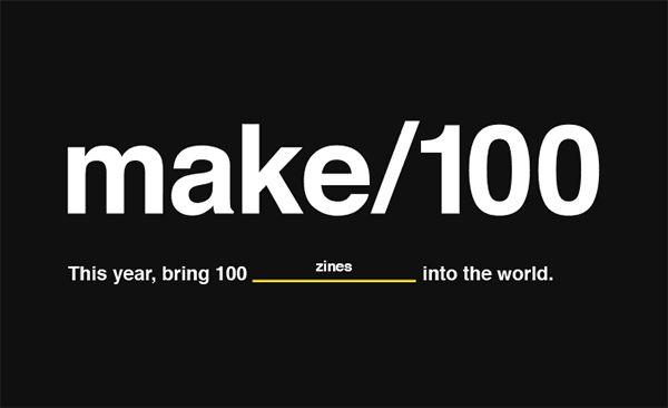 "Kickstarter推出新的创新项目""Make 100"" 鼓励微型项目发展 - 金评媒"
