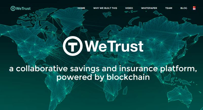 首个以太坊应用ROSCA即将推出 WeTrust搭建未来存款与保险信任平台 - 金评媒