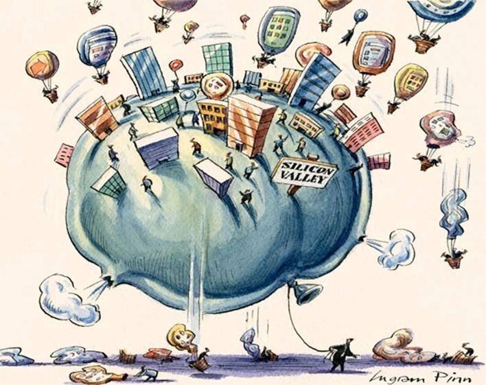 共享一切?O2O风潮后最大的肥皂泡来了 - 金评媒
