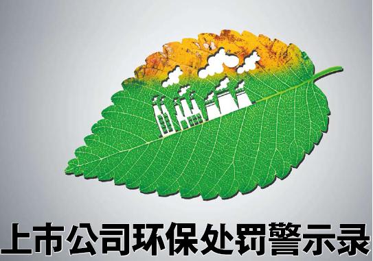 上市公司环保处罚警示录 对资本市场影响不光只是IPO - 金评媒