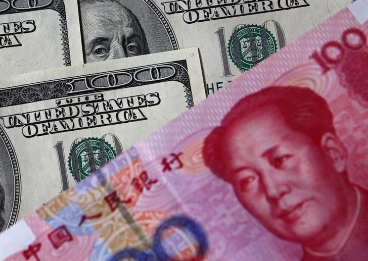 人民币兑美元中间价调升432个基点 连续两日调升 - 金评媒