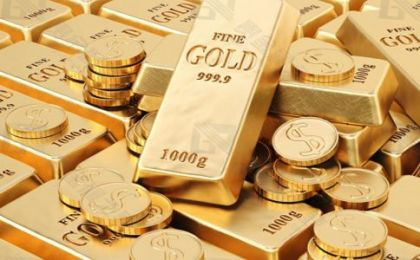 【现货黄金】受美元坚挺拖累,金价连续第三日下跌