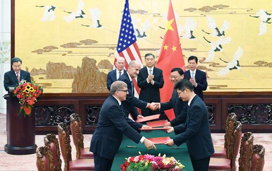 中美签历史大单:2500亿美元项目过半涉及能源 - 金评媒
