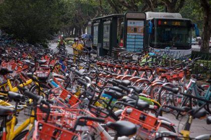 巴黎拟向共享单车征停车税:不能接受人行道被侵占