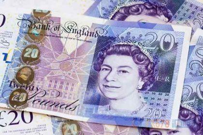 英镑回落静候预算案结局