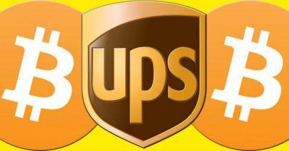 UPS申请快递柜专利,接受比特币支付