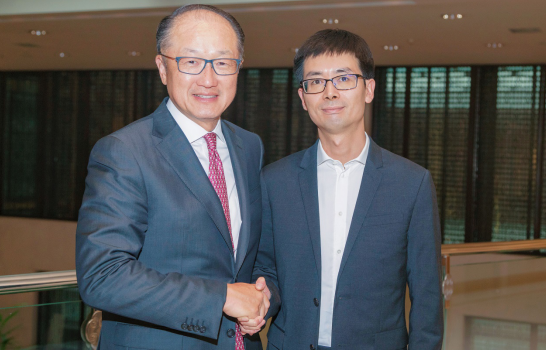世界银行行长金墉与京东金融CEO陈生强举行会谈 - 金评媒