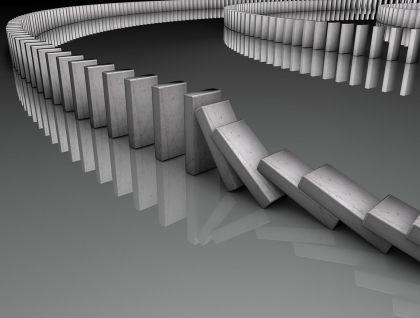 网贷沉浮:多米诺骨牌的必然崩塌