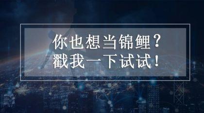 优投金服:支付宝送中国锦鲤1个亿,我们如何成为下一站锦鲤?