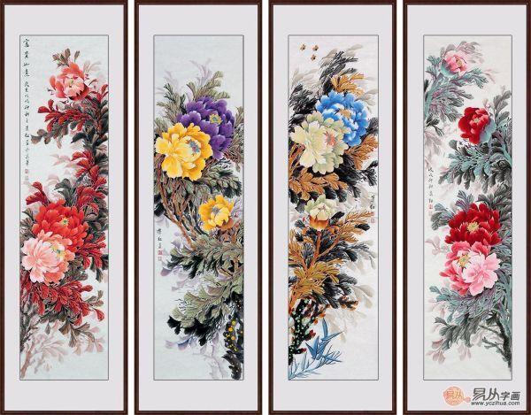 最雅致的室内装饰画 萧红国画牡丹图欣赏 - 大发888最新官网下载