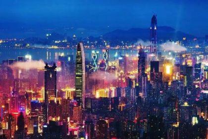"""蔡凯龙:深圳离""""地球经济中心""""有多远?3个深圳!"""