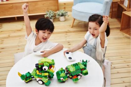 布鲁可新品暨战略发布会召开 积木黑马进入1-6岁市场对抗beplay体育提款巨头