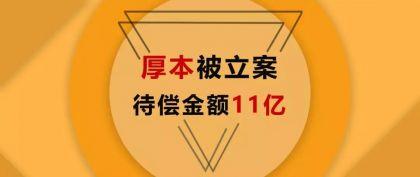 厚本金融立案:报案者疑为中华财险,超10亿借贷谁来负责?