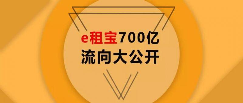 e租宝案:这场庞氏骗局中的700亿究竟去了哪里? - 金评媒