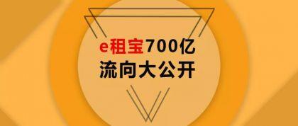e租宝案:这场庞氏骗局中的700亿究竟去了哪里?