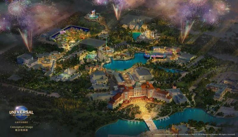 北京环球影城主题公园明年开业,百胜中国赢得8年合作协议 - 金评媒